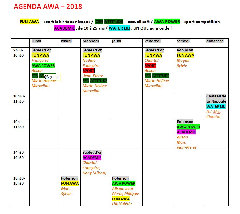 Agenda-AWA-2018
