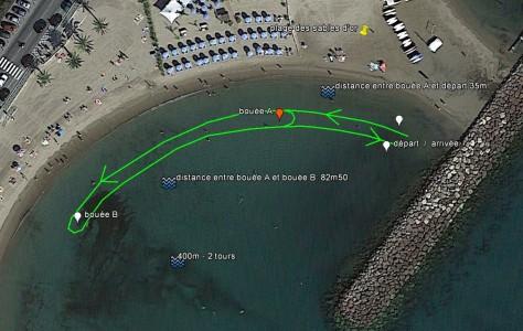 parcours 400m championnat plage des sables d'or_last